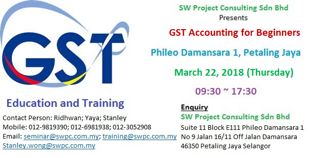 GST Training - GST Accounting for Beginners