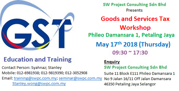 Goods and Services Tax Workshop