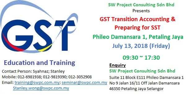GST Transition Accounting & Preparing for GST